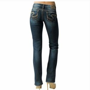 Silver Jeans Lola Style